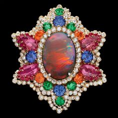 Dior Jewellery – Dear Dior: 'Dentelle Opale d'Orient' ring