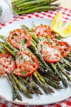 Tuscan Roast Asparagus.