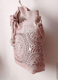Женские сумки ручной работы. Сумка Талисман скидка 20%. Katti bags. Ярмарка Мастеров. Купить вязаную сумку