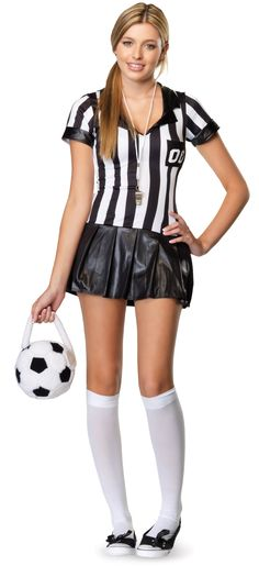 Time Out Referee Teen Costume from CostumeExpress.com