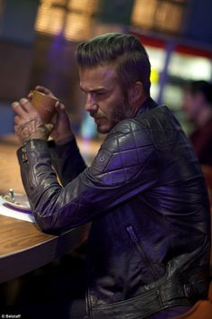 Former footballer David stars in a new short film called Outlaws for Belstaff, which will ...