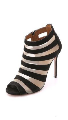 Aquazzura Wild Side Suede Sandals