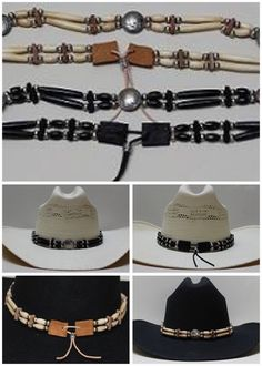 57885e04db6 A new hatband that you will love. These hatbands come in both Antique Bone  Hairpipe. Beaded Hat BandsIndian HeadBelt BucklesBuffaloProject IdeasNative  ...