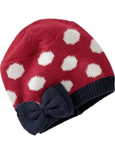 68ad70a2db7 Old Navy Knit-Applique Beanie for Baby Baby Fashionista