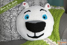 Cute Norm Of The North Crochet Pattern  #NormOfTheNorth #NormOfTheNorthSweeps #spon