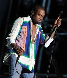 I'm still obsessed with this Celine shirt on Kanye.