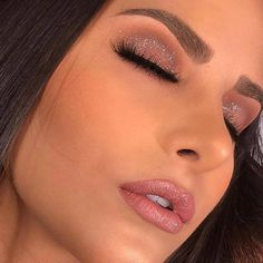 Maquiagem para Casamento de Dia 2018 Eye Makeup, Glam Makeup, Makeup Inspo, Bridal Makeup, Makeup Art, Wedding Makeup, Makeup Inspiration, Fancy Makeup, Blonde Makeup