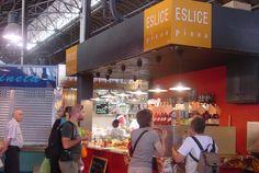 Eslice - para amantes de la delicia italiana por excelencia!  Pizzas de las mejores (si no la mejor) de toda la ciudad - Barcelona  Mercado de La Boqueria De lun. a sáb. de 9:30h a 18h (vie. y sáb. hasta las 20h)