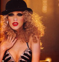 Burlesque makeup is amazing!  Christina Aguilera sends shivers down my spine every time I watch the movie!