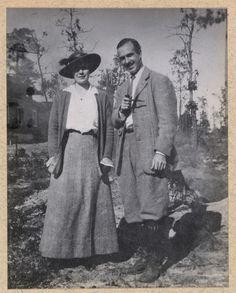 Ethel Roosevelt Derby with her husband Richard