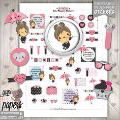 Audrey Hepburn Stickers, Diva Stickers, Kawaii Stickers, Fashion Stickers, Glamour Stickers, Fashionista, Planner Accessories, Erin Condren