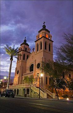 Historic St Mary's Basilica, Phoenix, AZ by Rob Overcash Photography, via Flickr