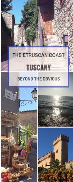 Did you know that as well as amazing art, food and wine Tuscany has an amazing coast with sandy beaches and crystal clear water? Discover: the Etruscan coast, off the beaten track Tuscany full of must see Tuscan villages and attractions