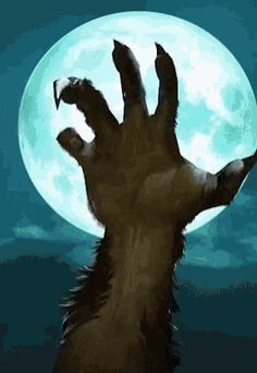 I think the full moon is rising.get ready to hear the howls and get your silver ready everyone. Play list tonight with Waiting for Darkness. Have a great night. Magical Creatures, Fantasy Creatures, Scary Wallpaper, The Witcher Books, Witcher Art, Werewolf Art, Have A Great Night, Howl At The Moon, Very Scary