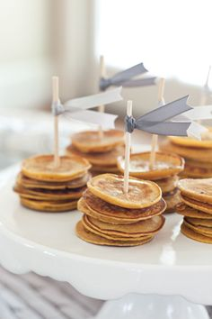 Our Favorite Things Party: Mini pancakes!
