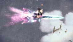 Flying sword like snowboard, Perfect World http://picture-virtualworld.blogspot.it/2013/04/blog-post_5906.html