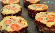 Omelet Muffins #MeatlessMonday via @eco-istas