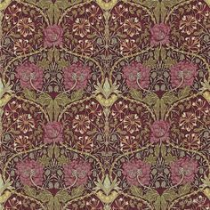William Morris,art Nouveau,vintage Pattern, Floral Victorian Pattern, Graphic T-shirt by - Black - MEDIUM - Mens Fitted Tee William Morris Wallpaper, William Morris Art, Morris Wallpapers, William Morris Patterns, Floral Wallpapers, Arts And Crafts For Teens, Art And Craft Videos, Easy Arts And Crafts, Arts And Crafts House