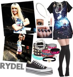 """Rydel Lynch"" by iloveyoutothemoonandback ❤ liked on Polyvore"
