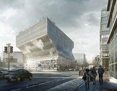 white arkitektur: park 1, stockholm  via designboom