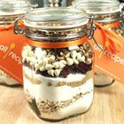 "White Chocolate Cranberry Hootycreeks  ""A beautifully festive cookie in a jar recipe. These make great gifts.""  Christmas!"