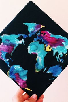 28 Graduation Cap Ideas For Students With Serious Wanderlust