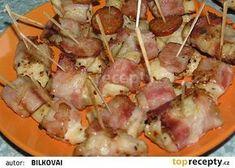 Kuřecí chuťovky recept - TopRecepty.cz Hawaiian Pizza, Potato Salad, Sausage, Pork, Food And Drink, Potatoes, Meat, Cooking, Ethnic Recipes