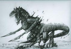"K'ell hunter, ""Malazan Book of the Fallen"""