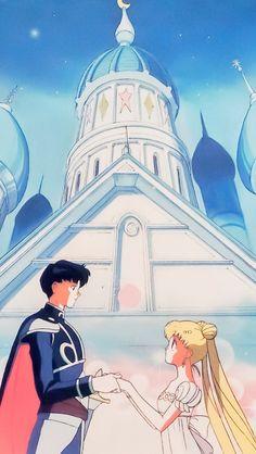 Endymion y princesa serenity Sailor Moon Y Darien, Arte Sailor Moon, Sailor Moon Usagi, Sailor Moon Crystal, Saylor Moon, Manga Anime, Princesa Serenity, Moon Drawing, Manga Drawing