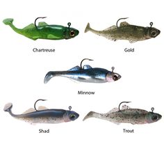 "Gitzit Paddle Fry | Sportsman's Warehouse 3"" 3/pk 2.79 Gitzit Small Fry - Gitzit was the 1st fishing lure company to put life like detail into its swim baits, actually matching heads and bodies. This makes the lure so much more appealing to the fish and makes it a more resistible lure. combined with the perfectly balanced matching heads, has made the Gitzit Small Fry"
