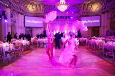 """Ballet Hispanico's 2015 Spring Gala honored Cuban civic leaders. The event, which had a theme of """"Noche Cubana,"""" took place in March at the Plaza Hotel's Grand Ballroom in New York and featured performances by the Ballet Hispanico Company as well as other entertainers. Straight Outta Compton, Park In New York, Havana Nights, Win A Trip, Wine Delivery, Plaza Hotel, Ballrooms, Fundraising, Ballet"""