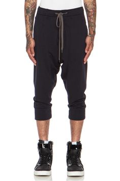 Attachment|Cotton Sweatpant in Navy