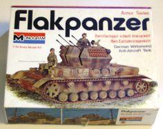 Monogram - Armor Series - Flakpanzer - German Wirbelwind Anti-Aircraft Tank | eBay
