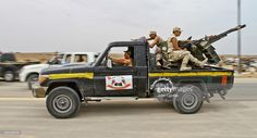 Outdated Vehicles And Technology Assist The Libyan Rebel Movement ...
