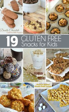 From snack balls packed with protein to pizza bites and paleo trail mix, here's 19 delicious recipes for Gluten Free Snacks that even the pickiest kid will love!