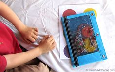 Everyday Fine Motor Materials - P is for Paperclip (Busy Bag)