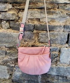 Coach Pink Cross Body Bag