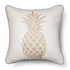 Threshold � Gold Pineapple Throw Pillow  @ Target for $20