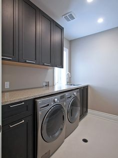 Optimize your small space & learn trick how to organize your dryer sheets, laundry room cabinet & other laundry room essentials Metal Barn Homes, Metal Building Homes, Pole Barn Homes, Building A House, Laundry Room Remodel, Laundry Room Cabinets, Basement Laundry, Landry Room, Pole Barn House Plans