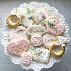 Wedding and Anniversary cookie