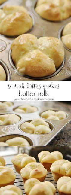 Butter Rolls - so much buttery goodness
