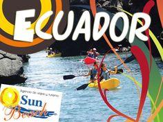 Te ofrecemos la mejor promoción para tus vacaciones en #Ecuador! desde #Cali  o en www.sunbeachcali.com