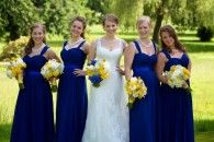 Bridesmaid Dresses, Little White Dress, Simple Wedding Dresses & Accessories | For Her and For Him Stunning blue! #bridesmaid #dresses