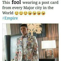 Lmao #empire #cookie #luscious #lyon #boobookitty #empirefox #fox #empirestate #jamal