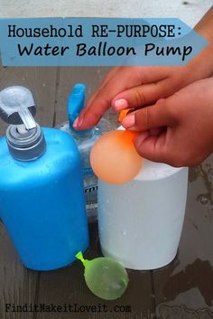 Genius Way to Make Water Balloons plus 7 other life hacks for kids that you must see!