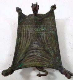 shopgoodwill.com: Vintage Bronze Devil Ashtray Tobacco Smoking