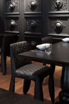 Monster Leather Side Chair