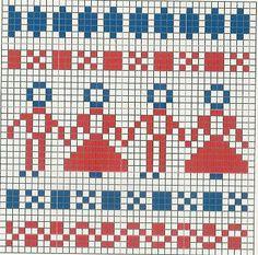 Pallet paleteau Binge-a Halland knitting tradition! Fair Isle Knitting Patterns, Knitting Charts, Knitting Designs, Knitting Yarn, Baby Knitting, Motif Fair Isle, Fair Isle Chart, Fair Isle Pattern, Etnic Pattern