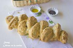 Pan espiga con semillas de amapola