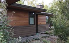 Nova offers a wide selection of options when it comes to exotic hardwood siding. Natural hardwood siding is durable and absolutely stunning! Cedar Cladding, Cedar Siding, Wood Siding, Exterior Siding, Exterior Design, Prefinished Hardwood, Hardwood Decking, Composite Siding, Siding Options